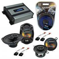 Compatible with Chevy Cavalier 1982-1990 OEM Speaker Replacement Harmony R35 R69 & Harmony HA...