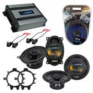 Compatible with Chevy Silverado Pickup 99-06 Speaker Replacement Harmony R5 R46 & Harmony HA-...