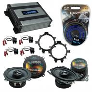 Compatible with Chevy Silverado Pickup 99-06 Speakers Replacement Harmony C5 C46 & Harmony HA...