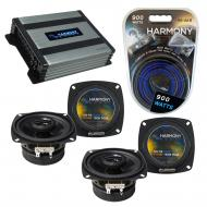 Compatible with Chevy Sprint: ER/Turbo 85-88 OEM Speaker Replacement Harmony (2) R4 & Harmony...