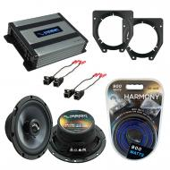 Compatible with Chevy Van Express 2003-2007 OEM Speakers Replacement Harmony (2) C65 & Harmon...