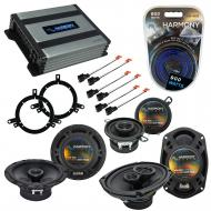 Compatible with Chrysler 300M 1999-2004 Factory Speaker Replacement Harmony Speakers & Harmon...