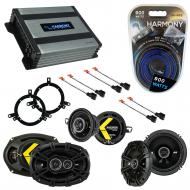 Compatible with Chrysler 300M 1999-2004 Factory Speaker Replacement Kicker DS & Harmony HA-A4...