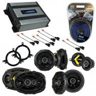 Compatible with Chrysler Concorde 2002-2004 Speaker Replacement Kicker DS Package & Harmony H...