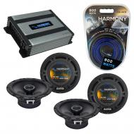 Compatible with Chrysler Crossfire 2004-2006 OEM Speaker Replacement Harmony (2) R65 & Harmon...