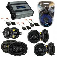 Compatible with Chrysler LeBaron 1984-1995 Speaker Replacement Kicker DS Package & Harmony HA...