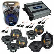 Compatible with Chrysler LHS 1995-1998 OEM Speaker Replacement Harmony Speakers & Harmony HA-...