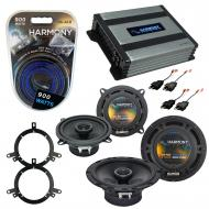 Compatible with Chrysler LHS 1999-2001 OEM Speaker Replacement Harmony R65 R5 & Harmony HA-A4...