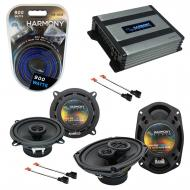 Compatible with Chrysler Sebring Coupe/Sedan 95-00 OEM Speaker Replacement Harmony & Harmony ...