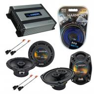 Compatible with Dodge Avenger 1995-2000 OEM Speaker Replacement Harmony R65 R69 & Harmony HA-...