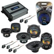 Compatible with Dodge Colt Vista 92-94 OEM Speaker Replacement Harmony R5 R4 R69 & Harmony HA...