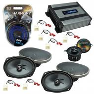 Compatible with Dodge Magnum 2005-2007 Factory Speakers Replacement Harmony C69 C35 & Harmony...