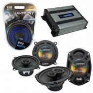 Compatible with Dodge Challenger 2008-2014 OEM Speaker Replacement Harmony R69 R5 & Harmony H...