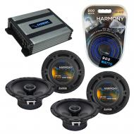 Compatible with Dodge Nitro 2007-2011 Factory Speaker Replacement Harmony (2) R65 & Harmony H...