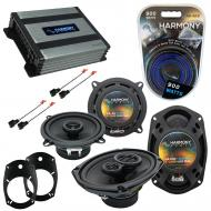 Compatible with Dodge Ram 2500/3500 03-05 Speaker Replacement Harmony Speakers & Harmony HA-A...