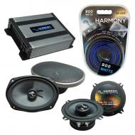 Compatible with Dodge Challenger 2008-2014 Speakers Replacement Harmony C69 C5 & Harmony HA-A...