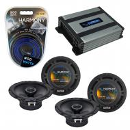 Compatible with Dodge Viper 1993-2002 Factory Speaker Replacement Harmony (2) R65 & Harmony H...