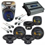 Compatible with Eagle Talon 1990-1994 Factory Speaker Replacement Harmony R65 R4 & Harmony HA...