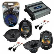 Compatible with Ford Crown Victoria 98-11 OEM Speaker Replacement Harmony R68 R69 & Harmony H...