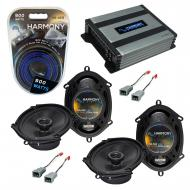 Compatible with Ford Econoline Full Size Van 82-85 Speaker Replacement Harmony (2)R68 & Harmo...