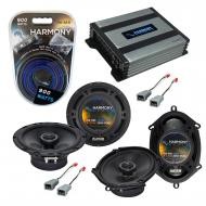 Compatible with Ford Econoline Full Size Van 86-91 Speaker Replacement Harmony Speakers & Har...