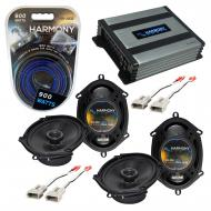 Compatible with Ford F-150 1997-2003 Factory Speaker Replacement Harmony (2) R68 & Harmony HA...