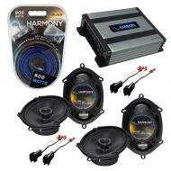 Compatible with Ford Focus 2000-2007 Factory Speaker Replacement Harmony (2) R68 & Harmony HA...