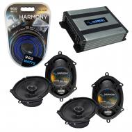 Compatible with Ford Focus 2008-2011 Factory Speaker Replacement Harmony (2) R68 & Harmony HA...