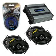 Compatible with Ford Focus 2008-2011 Factory Speaker Replacement Kicker (2) DSC68 & Harmony H...