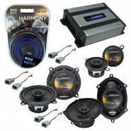 Compatible with Ford Mustang 1982-1985 Factory Speaker Replacement Harmony Speakers & Harmony...