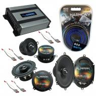 Compatible with Ford Mustang 1986-1993 Factory Replacement Harmony Premium Speakers & Harmony...