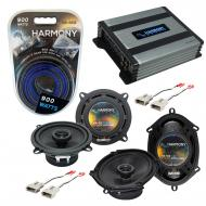 Compatible with Ford Probe 1993-1997 Factory Speaker Replacement Harmony R65 R68 & Harmony HA...