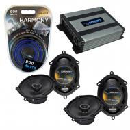 Compatible with Ford Taurus / Taurus X 2008-2009 Factory Replacement Harmony (2) R68 & Harmon...