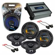 Compatible with GMC Canyon 2004-2012 Factory Speaker Replacement Harmony (2) R65 & Harmony HA...