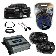 Compatible with GMC Canyon Crew Cab 2015-2018 Factory Speaker Replacement Package R69 & Harmo...