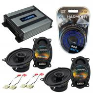 Compatible with GMC Sierra 1988-1994 Factory Speaker Replacement Harmony (2) R46 & Harmony HA...