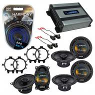 Compatible with GMC Sierra Classic 2007 OEM Speaker Replacement Harmony R5 R65 R46 & Harmony ...