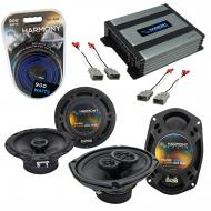 Compatible with Honda Civic 1996-2000 OEM Speaker Replacement Harmony R65 R69 & Harmony HA-A4...