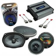 Compatible with Honda Civic 1996-2000 Speakers Replacement Harmony C65 C69 & Harmony HA-A400....