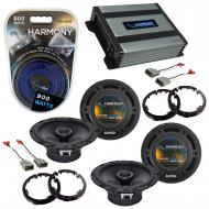 Compatible with Honda Civic 2001-2005 Factory Speaker Replacement Harmony (2) R65 & Harmony H...