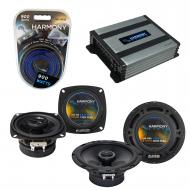 Compatible with Honda CRX 1984-1985 Factory Speaker Replacement Harmony R4 R65 & Harmony HA-A...
