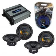 Compatible with Hyundai Elantra 2007-2010 Speaker Replacement Harmony (2) R65 & Harmony HA-A4...