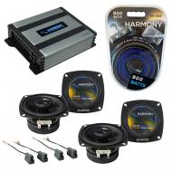 Compatible with Hyundai Excel 1986-1994 Speaker Replacement Harmony (2) R4 & Harmony HA-A400....