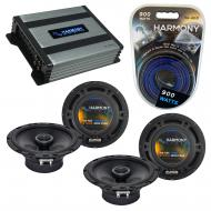 Compatible with Hyundai Tucson 2005-2009 Speaker Replacement Harmony (2) R65 & Harmony HA-A40...