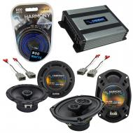Compatible with Honda Prelude 1997-2001 OEM Speaker Replacement Harmony R65 R69 & Harmony HA-...
