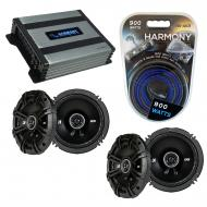 Compatible with Infiniti FX35-FX45 2003-2008 Speaker Replacement Kicker (2) DSC65 & Harmony H...