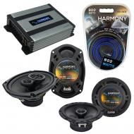 Compatible with Infiniti G20 1991-1996 Speaker Replacement Harmony R65 R69 & Harmony HA-A400....