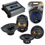 Compatible with Infiniti G20 1999-2002 Speaker Replacement Harmony R65 R69 & Harmony HA-A400....