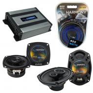 Compatible with Infiniti J30 1993-1997 OEM Speaker Replacement Harmony R4 R69 & Harmony HA-A4...