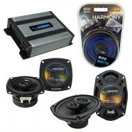 Compatible with Infiniti M30 1990-1992 OEM Speaker Replacement Harmony R4 R69 & Harmony HA-A4...